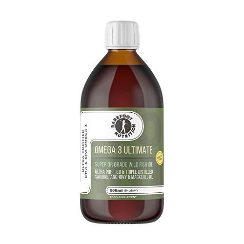 Omega 3 Ultimate: Superior Grade Wild Fish Oil 500ml
