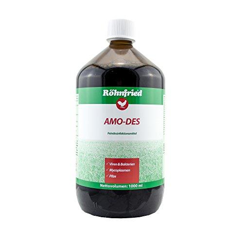 Röhnfried AMO-des - hochwirksames Desinfektionsmittel zur Raum- und Gerätedesinfektion (1000 ml)