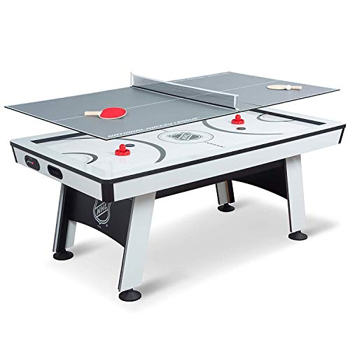 NHL Power Play Air Powered Hockey Table with Table Tennis Top -...