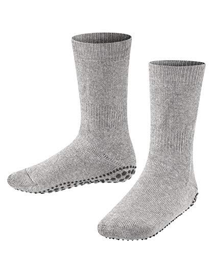 FALKE unisex-Kinder Socken, Catspads K CP-10500, Grau (Light Grey 3400), 39-42