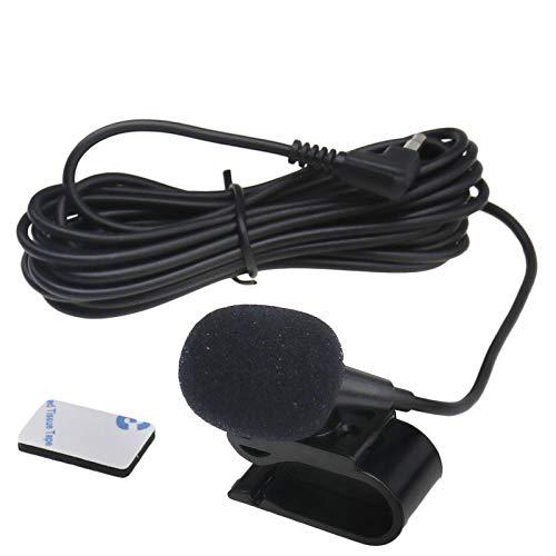 1x 3M 3,5mm Universal Externes Mikrofon Mic Für Auto Stereo Ersatz Set
