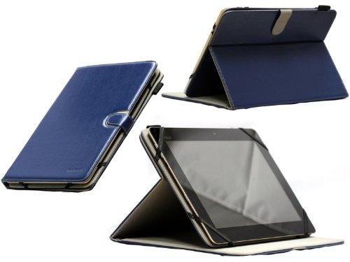 Navitech Rotierbares Case Cover ideal für das Nokia Lumia 2520 (Nokia Lumia 2520, blau)