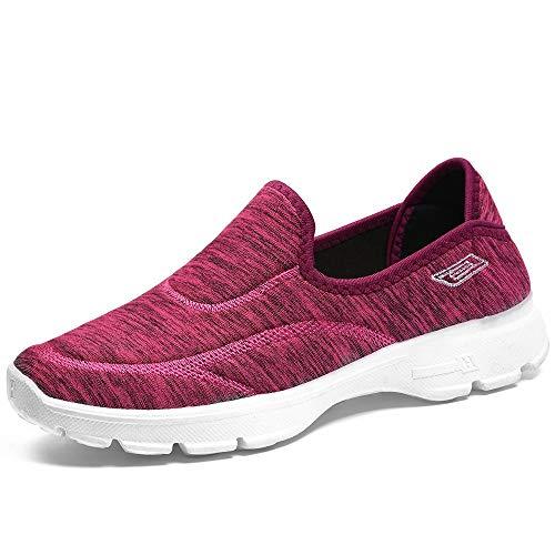 DKZK Zapatillas Deportivas Sneaker Calzado para Mujer Calzado Deportivo para Caminar De Mediana Edad Y Ancianos Calzado Deportivo para Caminar Al Aire Libre