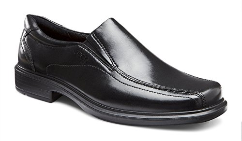 ECCO Men's Helsinki Slip-On, Black, 50 US Men's 16-16.5) M