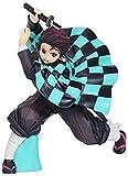 Figure di anime Demon Slayer Kamado Nezuko Figurine Character Model PVC Statue Ornamenti per il desktop Regali di compleanno Giocattoli Bambola Anime Souvenir Collezionismo Artigianato (Colore: A)