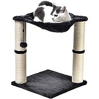 AmazonBasics Cat Condo Tree Tower with Hammock Bed
