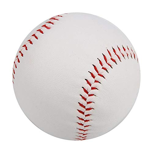 Jarchii 【2021 Neujahrsaktion】 Soft Baseball Soft Filling, Softball, um Fähigkeiten zu verbessern. PVC Base Ball Strike, hochelastischer weicher Baseball, zum Üben des Spiels
