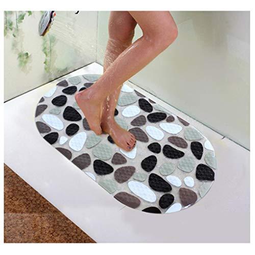 Honana BX-118 PVC anti-slip badmatten kiezeldouche anti-slip badkamer tapijt toilet matten badkamer vloerkleed