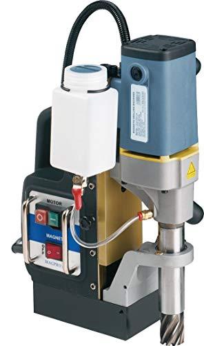 Magnetbohrmaschine MAGPRO 35, im PVC-Koffer, Werkzeugaufnahme Weldon 19mm, inkl. Zahnkranzbohrfutter u. Adapter
