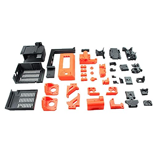 PETG Material Printed Parts 3D Printer Upgrade DIY Kit Accessories Compatible with Prusa i3 MK3/3S Operate Easily