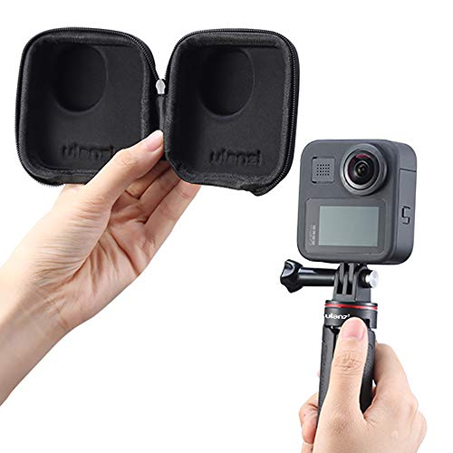 ULANZ Mini-Tragetasche Tragbare Schutzhülle Tragetasche Reisetasche für GoPro Max, passend für Selfie Stick Pole Einbeinstativ-Zubehör