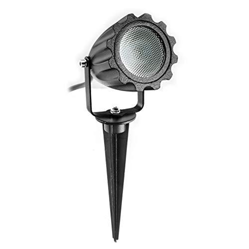 LED tuinschijnwerper KNGS1 met grondpen 12V AC DC voor CLGarden plug&light System IP44 laagspanningsstekkersysteem