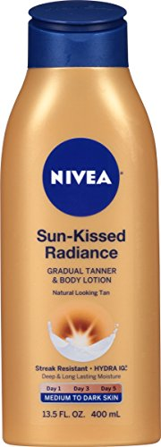 NIVEA Sun-Kissed Radiance Medium to Dark Skin Gradual Tanner & Body...