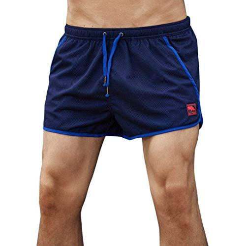 Badbroek heren shorts home broek zomer modern casual strandbroek mode casual vakantie strand zwembroek zwembroek zwembroek