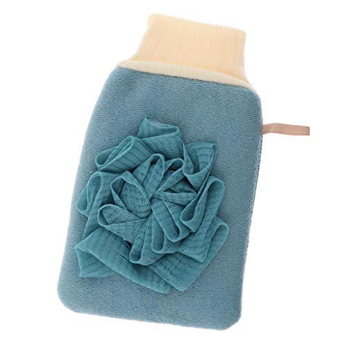 MERIGLARE Exfoliant Visage Corps De Massage Double Face Pour - Bleu
