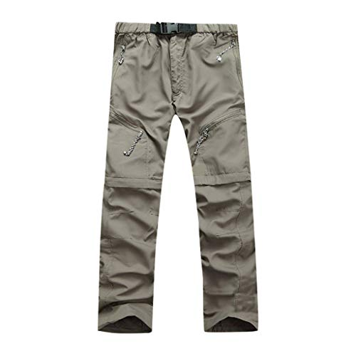 Read About BAOHOKE Outdoor Quick Dry Detachable Trousers for Men,Portable Waterproof Multi-Use Pocke...