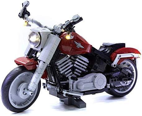 Brick Loot Deluxe LED Light Kit for Your Lego Harley Davidson Fat Boy Motorcycle Set 10269 Lego product image
