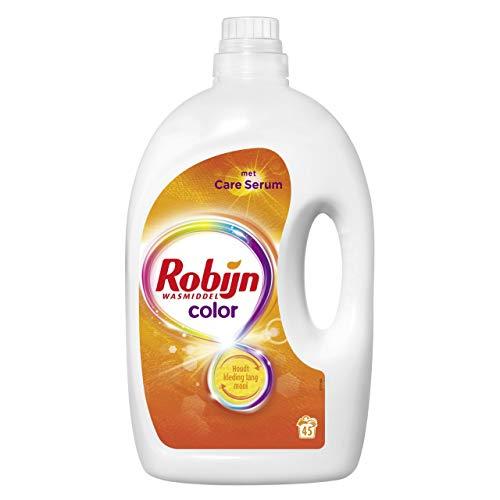 Robijn Waschmittel flüssige Farbe 45 Messlöffel - Flasche 2,25 Liter