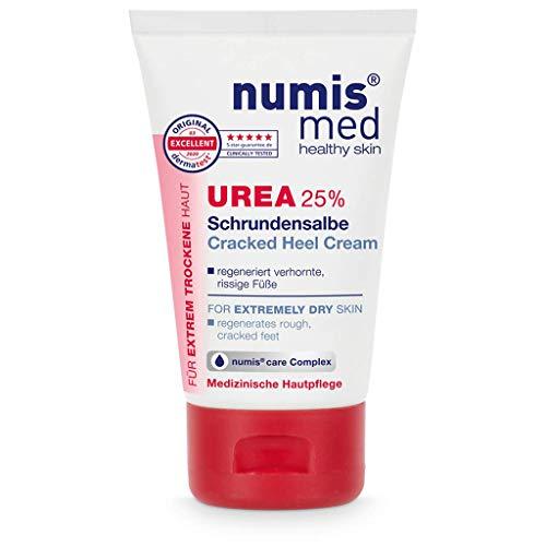 numis med Schrundensalbe mit 25% Urea - Hautberuhigende Schrunden Fusscreme für sehr rissige & stark verhornte Füße - vegane Hautpflege ohne Silikone & Parabene -...