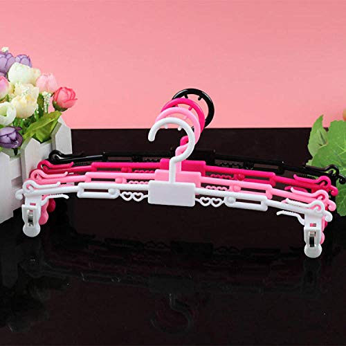 Hanger 10 Packs met Clips Groothandel BH Racks voor kleding en ondergoed Winkels Ondergoed Ondergoed Display Racks