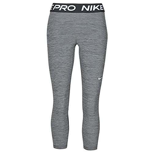 NIKE CZ9803-010 W NP 365 Tight Crop Leggings Womens Black/htr/(White) S