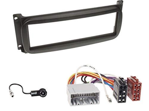 ACV 281145-03+1531-02+1031-02 Façade d'autoradio 1-DIN Chrysler/Dodge, câble d'antenne et câble de Connexion Radio Multicolore