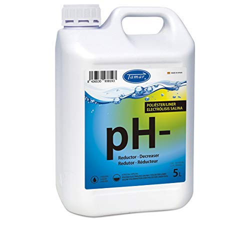 Tamar Reductor pH Poliester/Lines y Electrolisis Salina 5 litros