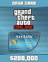 Grand Theft Auto Online - $200,000 Tiger Shark Cash Card PC Code (No CD/DVD)