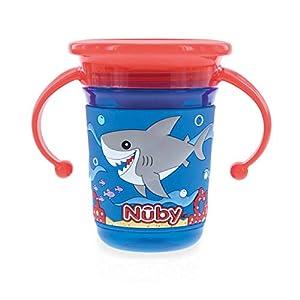 Regentropfen Thirsty Kinder 360//° Mini kein /überschwappen Cup von Nuby 4 12/M BPA-frei