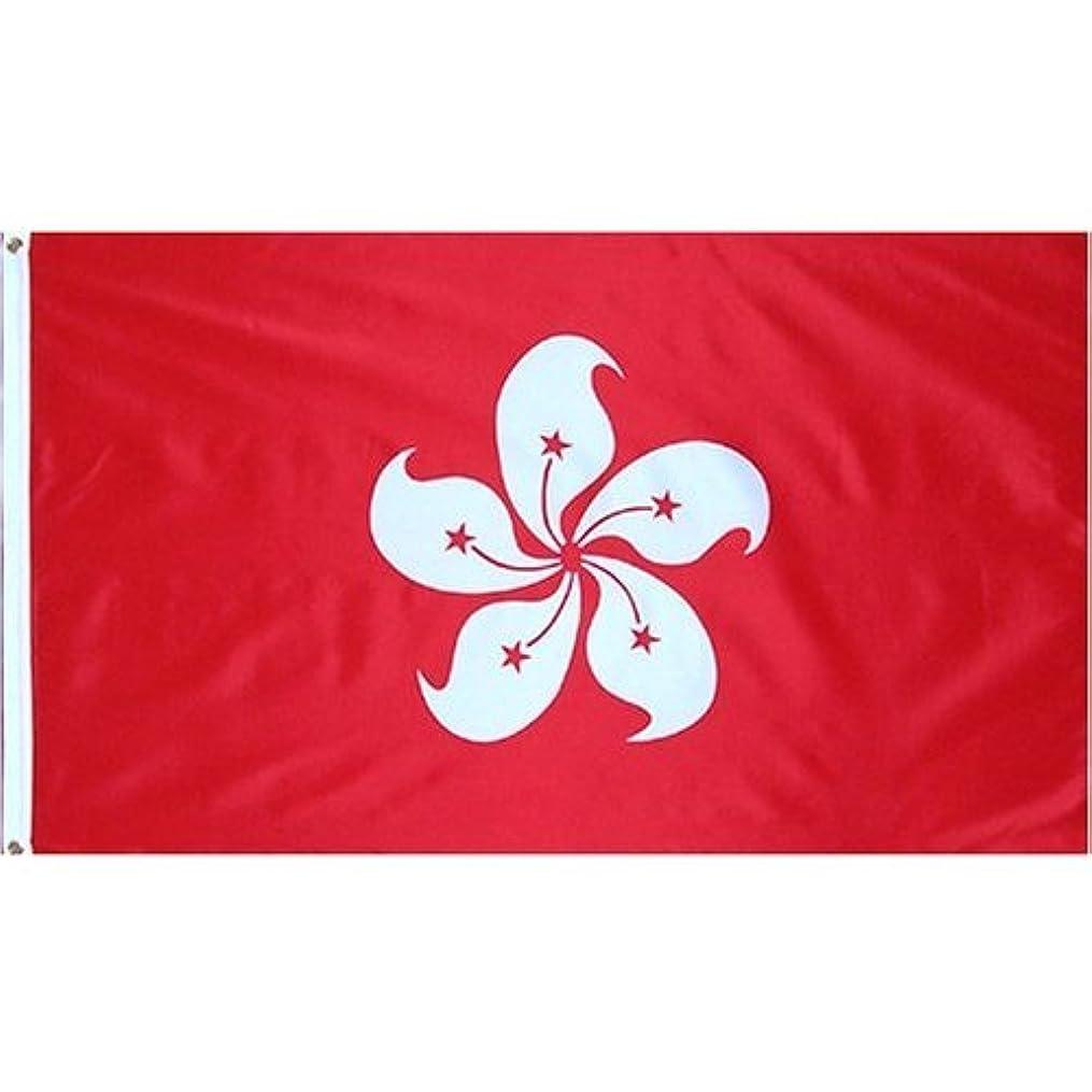 例外時間国民投票Avidflag ( TM )香港ナイロン3?x 5?'フラグAVIDTECH construction