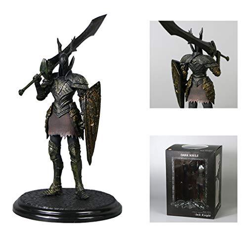 Xuda anime Dark Souls 3 Abbildung Black Knight Abbildung Statue PVC Exquisite Action-Figur Sammler Modell Spielzeug (Höhe: 20 cm)