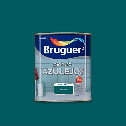 Bruguer Esmalte para Azulejos Brillante Azul Egeo 750 ml