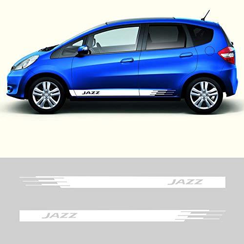 FSXTLLL Auto Seitenstreifen Seitenaufkleber Aufkleber, Für Honda Jazz