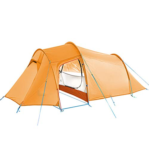 Family Tent, Ultralight Backpacking Tent 2 Person for Backpacking Cycling Hiking Camping, Waterproof and UV Profective