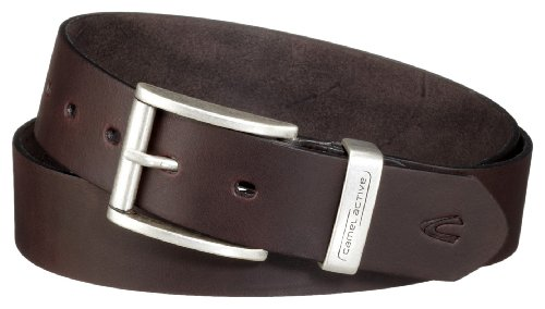 camel active 402660/9B66 - Herren Gürtel,Braun (Dark Brown) M