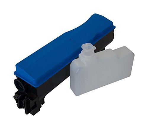 Tóner TK-570 Cyan para Kyocera. Tóner Compatible con Las Impresoras Kyocera FS-C5400 DN, FS-C5400, Ecosys P7035 CDN. MÁXIMA Calidad AL Mejor Precio!