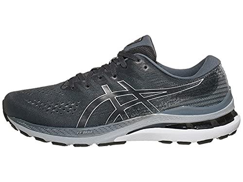 ASICS Men's Gel-Kayano 28 Running Shoes, 11, Carrier Grey/Black