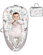 Seogva ベビーベッド 折りたたみ ミニ ベッド 赤ちゃん ベッドインベッド 持ち運び 軽量 コンパクト 0~18ヶ月 動物柄