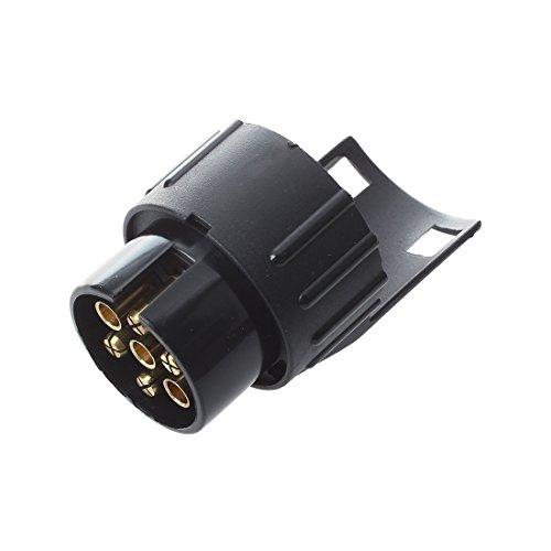 Gancho de Remolque Electrico Convertidor - TOOGOO(R)7 a 13 Pin Adaptador Trailer...
