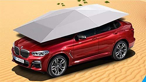 JIEJIEZ - Parasol portátil para coche (4,2 x 2,2 m)