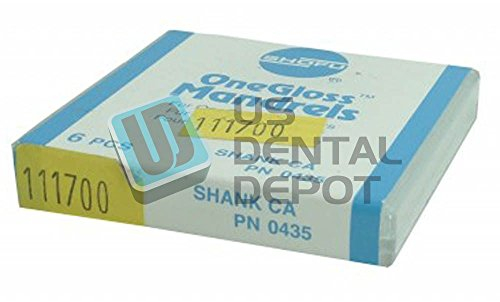 SHOFU - CA One Gloss Mandrel Ca 6pk -( #0435 ) 111700 Us Dental Depot