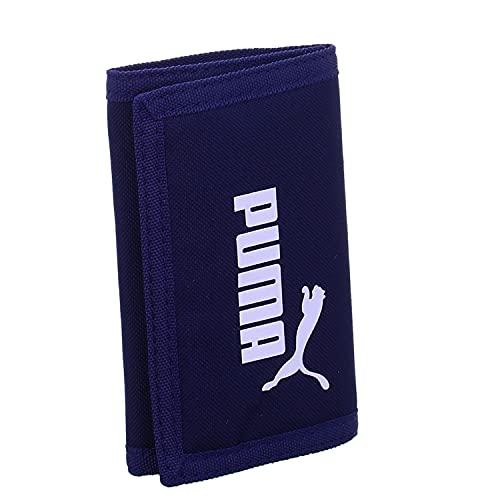 PUMA Phase Wallet Monedero, Unisex Adulto, Azul, Talla Única