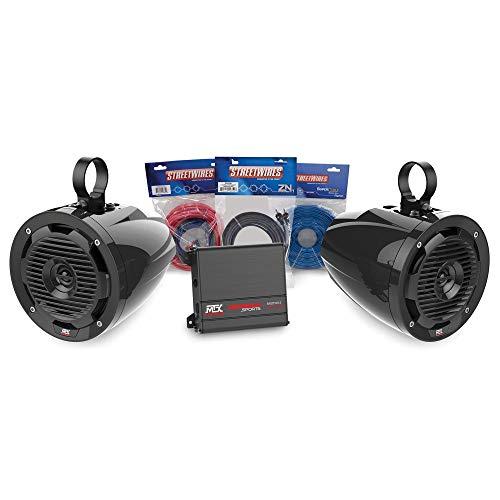 MTX Motorsports ORVKIT3 Tower 2-Speaker & Amplifier Off-Road Motorsports ADDON Package