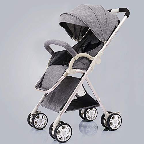 MC-BLL-Baby stroller Paysage Pliant Facile Ultra léger Pliant Portable Haute Paysage Peut s'asseoir Poussette inclinable