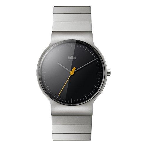 Braun Herren Armbanduhr BN0211BKSLBTG