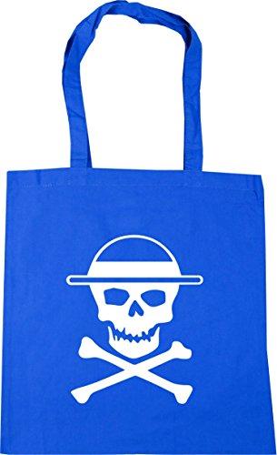 HippoWarehouse Straw hat pirates Tote Shopping Gym Beach Bag 42cm x38cm, 10 litres