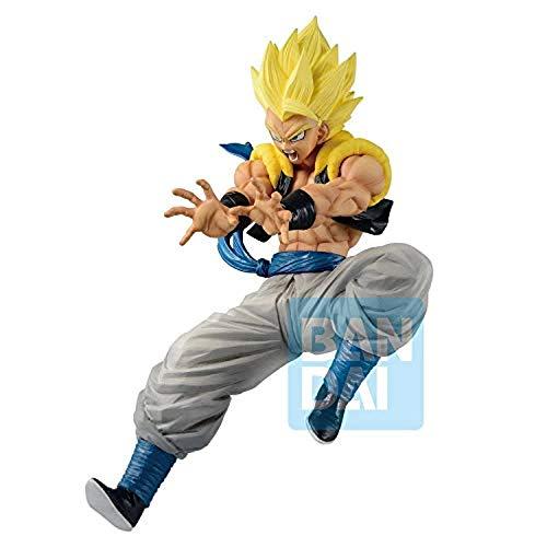 Banpresto Figura Ichibansho Super Saiyan Gogeta Rising Fighters Dragon Ball Z 18cm, BAN16454 (Juguete)