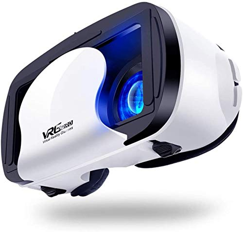 3D VR-bril voor mobiele telefoons, virtual reality bril, video game glazen compatibele mobiele telefoons binnen 4,5-7,0 inches