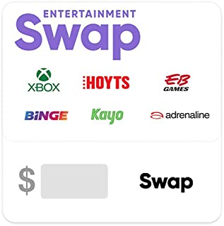 Swap Entertainment Gift Card - Delivered via email