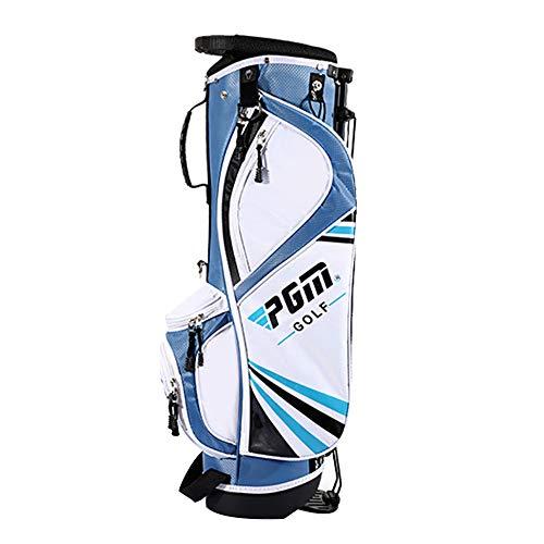 Golfschlägertasche mit Ständer, Golfbag für Kinder und Jugendliche von 5 bis 12 Jahren, Golfkurs-Umhängetasche mit Tragegriff Ultraleicht tragbar